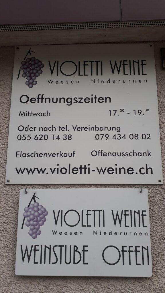 Violetti Weine Weinstube Öffnungszeiten